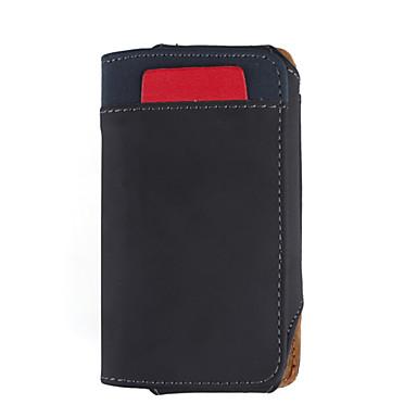 capa de couro de proteção para celular - preto