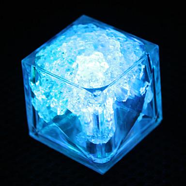 ijsblokje vormige 7 kleuren veranderen nacht licht