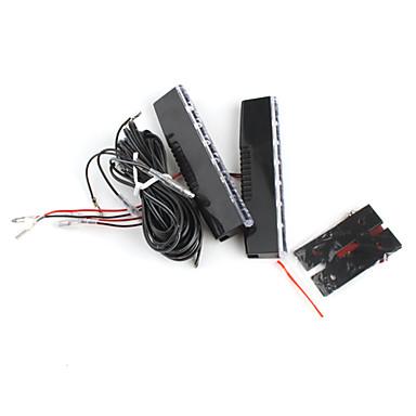 12 LED Tagfahrlicht - YCL-643 (weißes Licht, Paar)