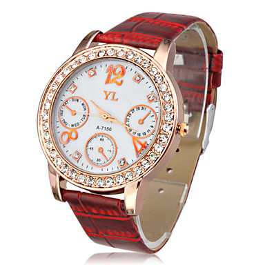 New Red Special Band Quartz Wrist Watch Cool Watches Unique Watches