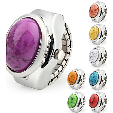 Dames Modieus horloge Kwarts Band Vintage Zilver Merk-