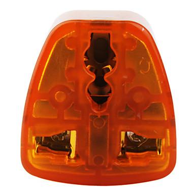 eu til alle standard Travel Adapter (10A-250V, oransje og grå)