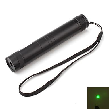 pointeur laser vert avec batterie et chargeur (5mW, 532nm, noir)