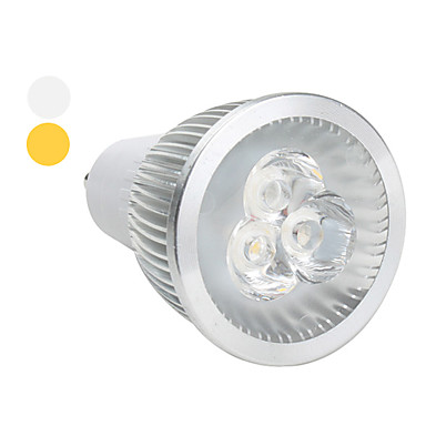 GU10 6W 570LM Warm/Cool White Light LED Spot Bulb (85-265V)