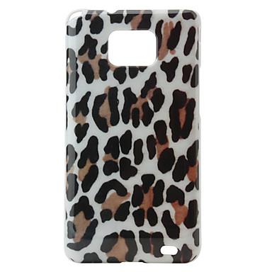 Housse de protection rigide pour Samsung i9100 (peau de léopard)