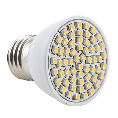 e26 / e27 led spotlight mr16 60 smd 3528 200lm sıcak beyaz 2800k ac 220-240v