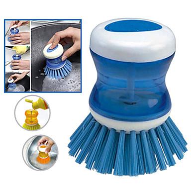 Bucătărie Produse de curatat Plastic Perie & Pânză de curățat Unelte 1 buc