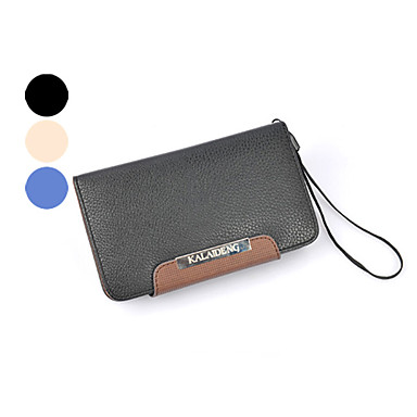 Case For Samsung Galaxy Samsung Galaxy Case Card Holder Wallet Flip Full Body Cases Solid Color PU Leather for Note