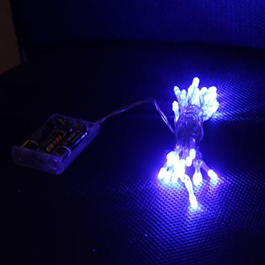 3M Dizili Işıklar 30 LED'ler Dip Led Mavi