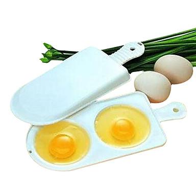 mikrodalga fırın yumurta Kazan omlet araçları boilling çift 2 yumurta kutusu