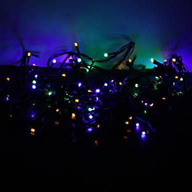 스트링 조명 100 LED RGB 색상-변화 220v