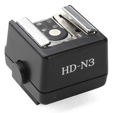 Flaş sıcak ayakkabı adaptörü hd-n3