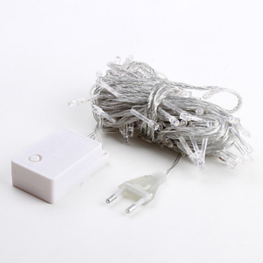 Koristevalot 100 LEDit Lämmin valkoinen 220V