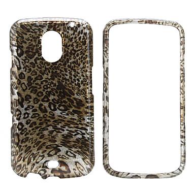 kokovartalo leopardi tulostaa tyyli suojakotelo Samsung i9250 (ruskea)