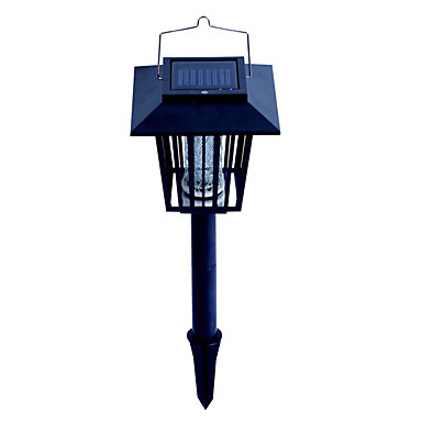 1 W lumini de gradina LED-uri de margele Reîncărcabil Ușor de Instalat Albastru