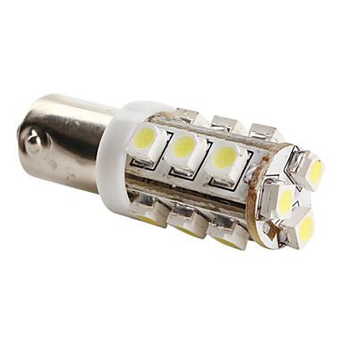 BA9s 3528 SMD 15-LED 0.48W 40mA weiße Glühlampe für Auto (DC 12V)-Paar