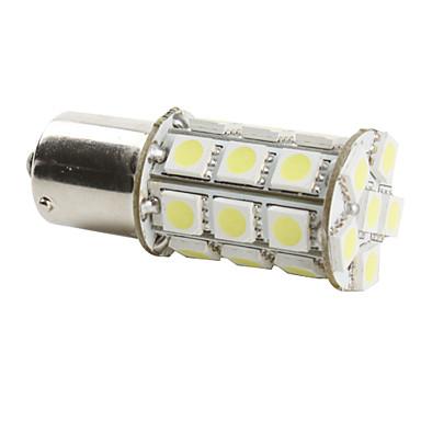 1156 6w 27x5050 SMD bombilla de luz blanca para coche freno de la lámpara (12V DC)