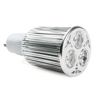 GU10 9W 600LM 2800-3300K Warm White Light LED Spot Bulb (85-265V)