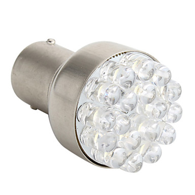 1156 1.5W 18-LED White Light Bulb for Car Brake Lamp (12V)