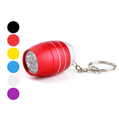 Sleutelhangerzaklampen LED 1 Mode 50 Lumens Super Light / Compact formaat / Klein formaat Anderen CR2032 Anderen ,Zwart / Blauw / Groen /