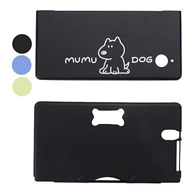 perro mumu de aluminio estilo de estuche protector para Nintendo DS y 3DS (colores surtidos)