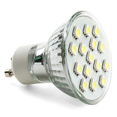 3W GU10 LED Spot Işıkları MR16 15 SMD 5050 200 lm Doğal Beyaz AC 220-240 V