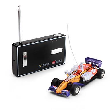 01:43 radio de contrôle mini-voiture de course F1 (jaune)