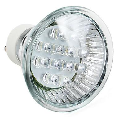 1W GU10 LED Spot Lampen MR16 12 High Power LED 60 lm Natürliches Weiß AC 220-240 V