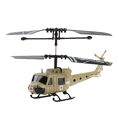 2 Channel Military Helicopter (Army Green)