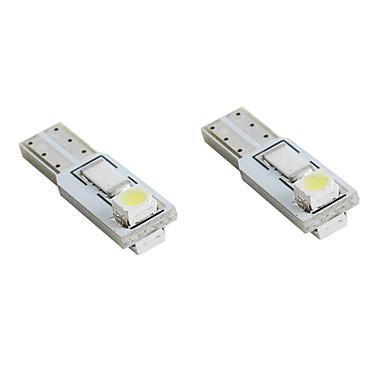 t5 2 * 1210 smd LED-uri albe lumini de semnalizare auto (2-Pack, 12V DC)