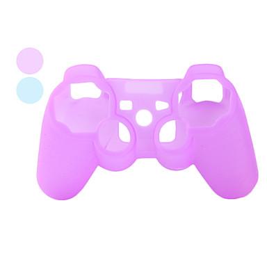 schützenden transparenten Stil Silikon-Hülle für PS3 Controller (farbig sortiert)