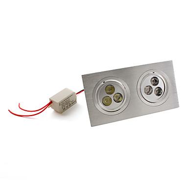 7W Gömme Işıklar / Tavan Işıkları Gömme Uyumlu 6 Yüksek Güçlü LED 540 lm Doğal Beyaz AC 85-265 V
