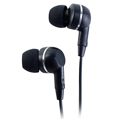 Kanen Classic Stereo In-Ear Earphone with Replaceable Ear Cushions