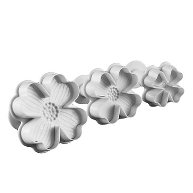 Mold Flower For Cupcake For Cookie For Cake Plastic Eco-friendly DIY High Quality