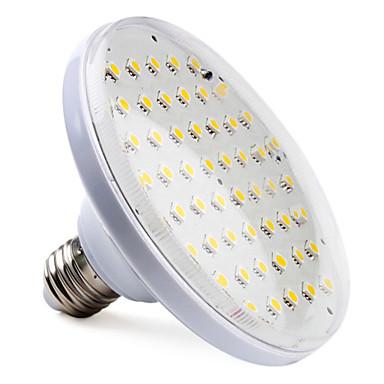 Spot Lampen PAR E26/E27 8 W 650 LM 2800K K 52 SMD 5050 Warmes Weiß AC 220-240 V