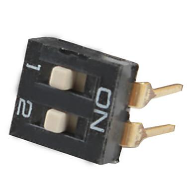 DIY 2-Way 4-Pin Dip Switch (20-Piece Pack)