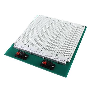 SYB-118t 4-in-1 birleştirme kaynaksız prototip breadboard-beyaz, yeşil