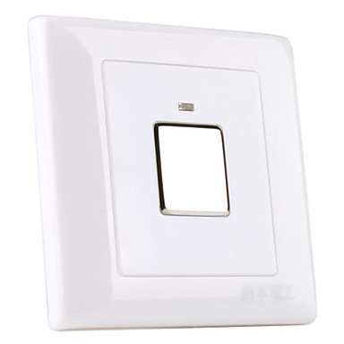 3-Wire System Wall Mount Touch Sensor LED Light Switch (180-240V)
