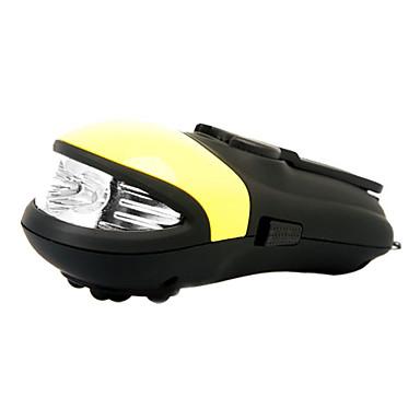 manivela 3-Mode lanterna LED com massageador (dínamo / usb)