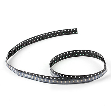 0805 Blue 100 x SMD LED Emitters Strip (460-470nm 130mcd)