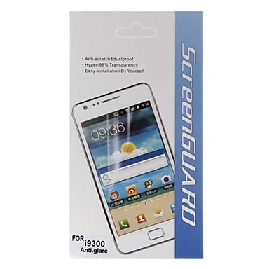 Protection d'Ecran LCD Anti-Reflets pour Samsung Galaxy S3 i9300 - Transparent