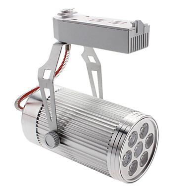 7W 560-600LM 6000-6500K Natural White Light Track Lamp LED Spot Bulb (85-265V)