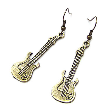 Pentru femei Cercei Picătură Muzică Chitară Modă cercei Bijuterii Pentru Petrecere