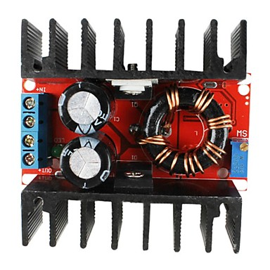 DC-DC 10-32V to 12-35V Mobile Step-up Boost Power Supply Module for Laptop (150W)