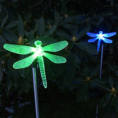1pc Bahçe Işıklar / Çimen Işık LED Boncuklar Yüksek Güçlü LED Kolay Kurulum / Dekorotif Çok Renkli