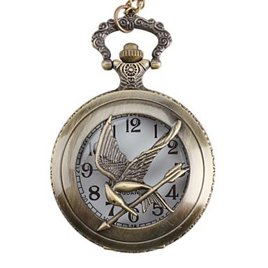 Unisex Bird Alloy Analog Quartz Pocket Watch (Bronze) Cool Watches Unique Watches