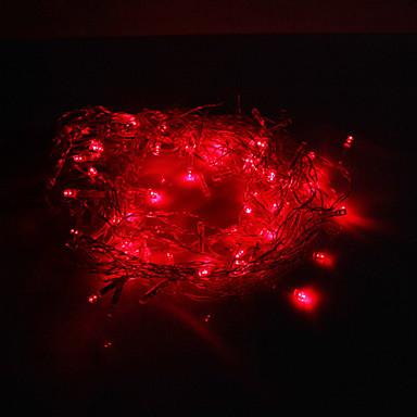 Dizili Işıklar 120 LED'ler Dip Led Kırmızı 220 V