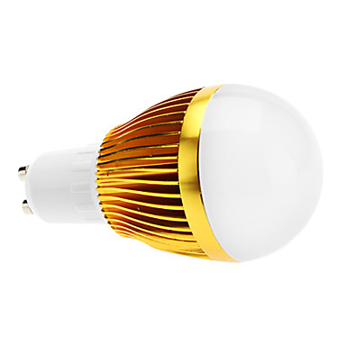 GU10 6 W 3 High Power LED 600 LM Warm White A50 Dimmable Globe Bulbs AC 220-240 V