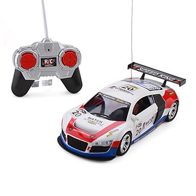 1:18 27MHz Remote Car Racing di controllo (colore casuale)