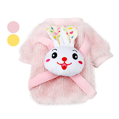 Smiling Rabbit Style Shirt for Dog (S-L,Assorted Color)